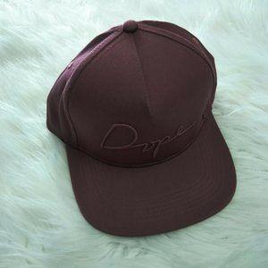 Dope Unisex Script Emb Snapback Hat